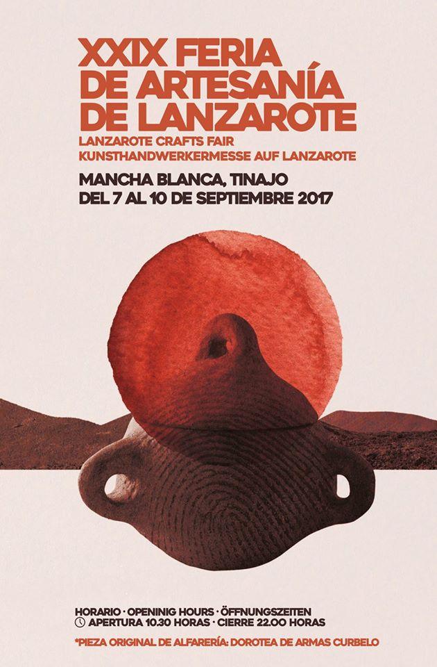 Programa XXIX Feria de Artesanía de Lanzarote 2017