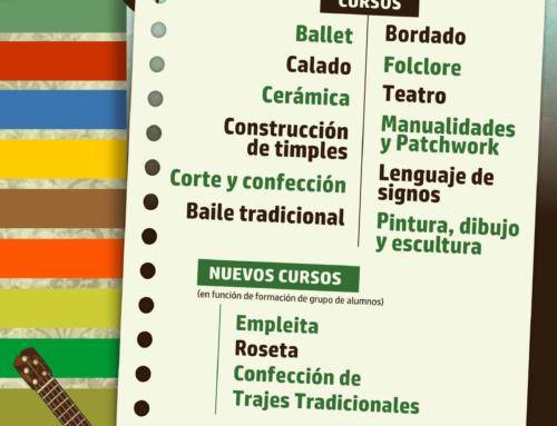 Cursos Artesanía y otros del Ayuntamiento de Teguise