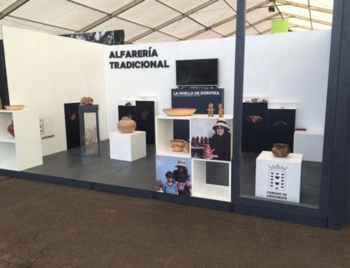 El Cabildo de Lanzarote promociona la artesanía insular en la 31ª edición de la Feria de Artesanía de Antigua